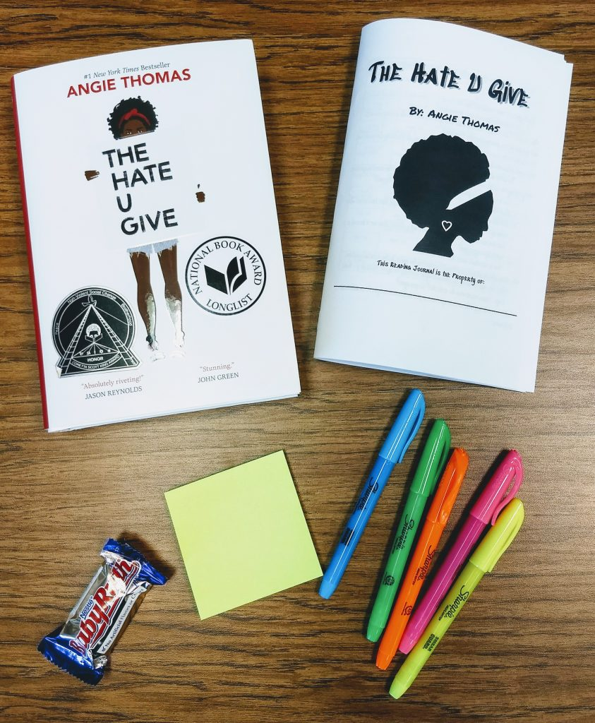 The Hate U Give is a great title if you're looking for help teaching more young adult literature.