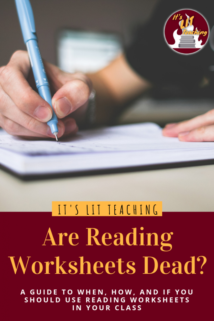 Should I be Using Reading Worksheets?