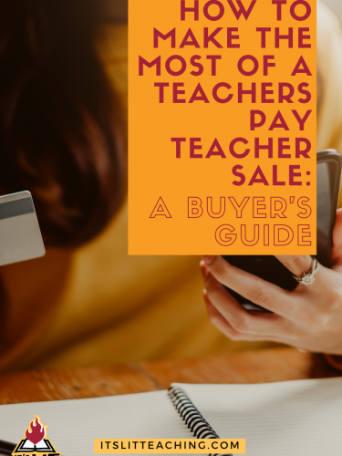 How to Make the Most of a Teachers Pay Teachers Sale: A Guide for Buyers