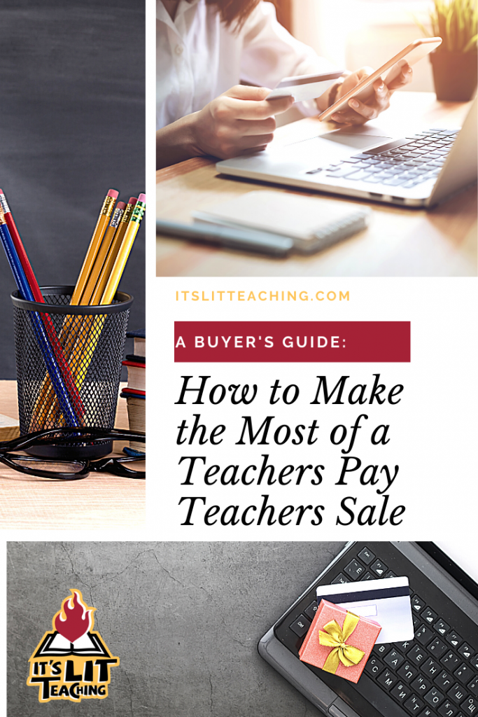 How to Make the Most of a Teachers Pay Teachers sale Pin