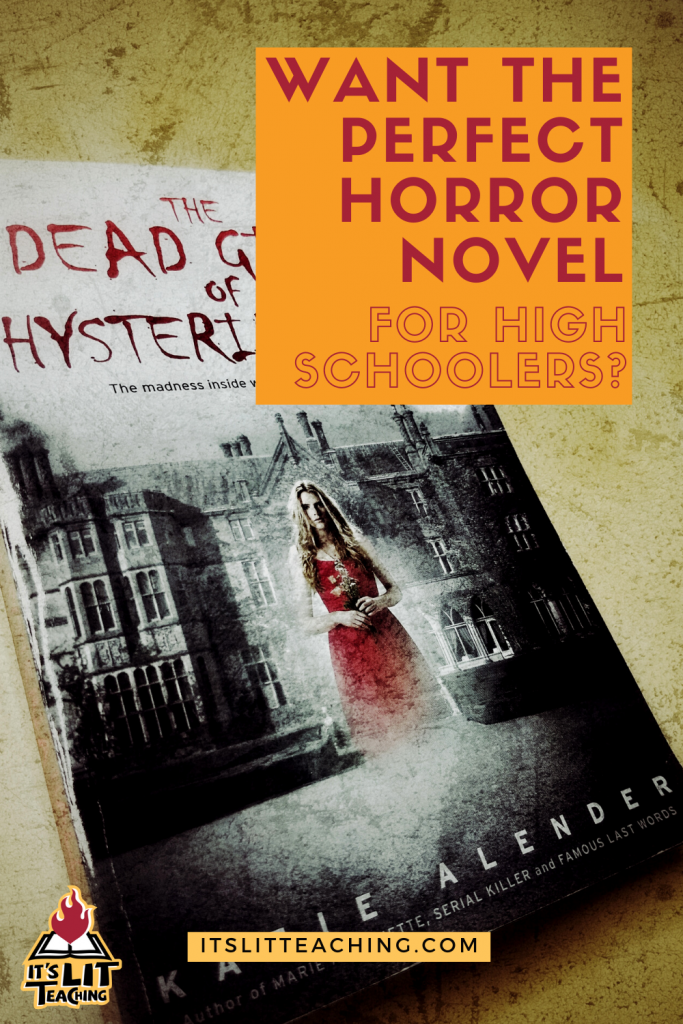 Dead Girls of Hysteria Hall by Katie Alender book review: the perfect horror novel for high school readers