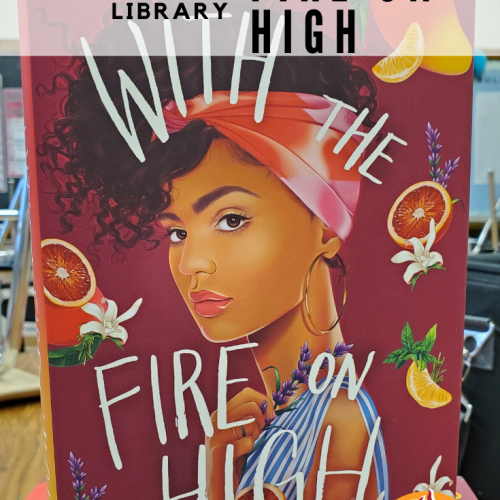 Pinterest image for blog post: How to Spice Up Your Library: With the Fire on High