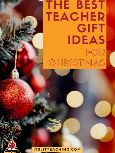 The Best Teacher Gift Ideas for Christmas