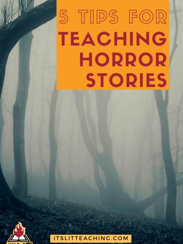5 Easy Tips for Teaching Horror Stories