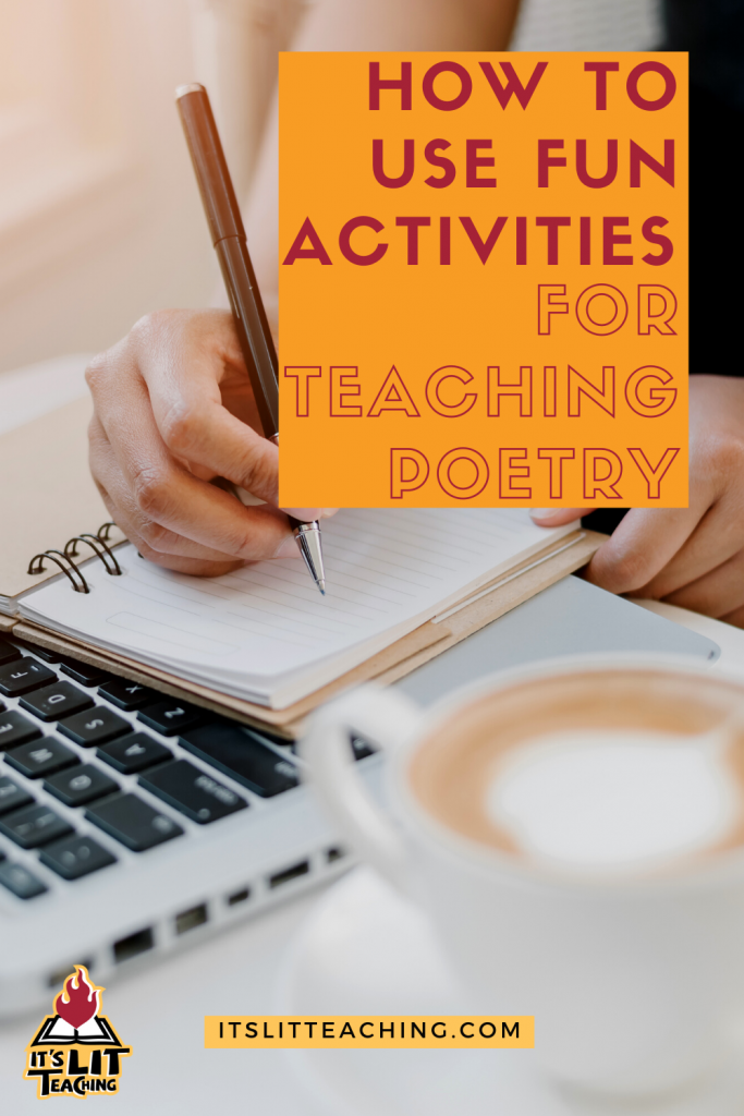 How to Use Fun Activities to Teach Poetry